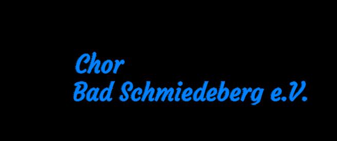 Chor Bad Schmiedeberg e.V.